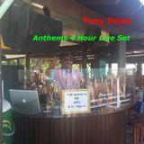 Tony Palas - Anthems 4 Hour Live Set