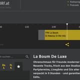 Dj Kwassa's guest Mix FM4 La Boum De Luxe