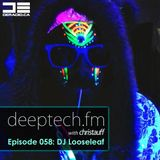 Deeptech.fm with Christauff - Episode 058 feat. Saamir Rahman aka DJ Looseleaf (2013-11-13)