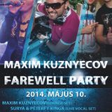Beat Warriors live @ Incognito (2014-05-10) Maxim Farewell Party