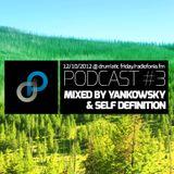 Drum'atyczny piątek 12/10/2012 @ Yankowsky & Self Definition