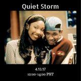 Quiet Storm - 13th April 2017