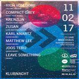 Krenzlin @ Hakke Music Klubnacht - Waschhaus Potsdam - 11.02.2017