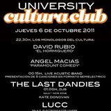 "Frann Delice @ Cultura Club ""University part 1"" 06/10/2011"