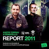 Kastis Torrau - Senses # 27 Spec. Edition 2011 Production Report feat. Donatello - 2012.01.06