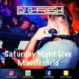DJ G Fresh - Fever & Boutique Live 23rd June Macclesfield