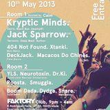 Dubout @ Mais Baixo x Outlook Festival Launch Party Lisboa (10.05.2013)