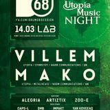 Villem & Mako - DrumObsession #68: Utopia Music Night promo mix (March 2015)