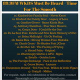 89.9FM WKDS Must Be Heard - Time For The Smooth