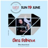 Chris DelNova@Guest Cafe Bar (19.06.2016)[Deep Tech House]