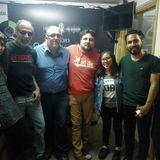 Venarock con CHOPPER (Uruguay),Herbert Bazán Aguirre(Seres Invisibles) y Mario Yacarini (Leftherian)