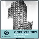 OneFiveEight 1st December 2017