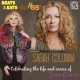 #85: Joan Rivers Tribute w/ Comedian Sarah Colonna | Spaceballs | Vince Gilligan | CLNS 1 Million Li