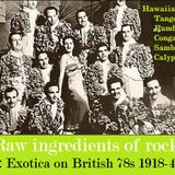 RAW INGREDIENTS OF ROCK 5: EXOTICA ON BRITISH 78s 1918-45