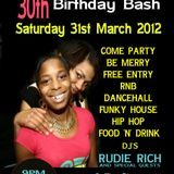 Rudie Rich and Selctor Velvet Link Up @ Layla's Birthday Bash April 1st 2012