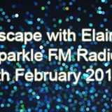 Escape with Elaine Sparkle FM Radio Wednesday 6th February 2019