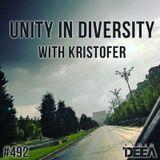 Kristofer - Unity in Diversity 492 @ Radio DEEA (16-06-2018)