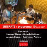 ENTÉRATE / programa 10
