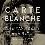 Carte Blanche: Daevid Allen with Will Z.