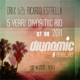 DRI.K b2b Ricardo Estrella - Diynamic 5 Years Rio