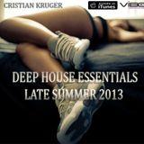 Deep House Essentials - Late summer 2013
