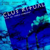 Club Ritual 001 w/Asher Gray