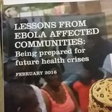 Africa APPG- Lessons from Ebola affected communities: Being prepared for future health crises
