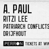 A.Paul - Live Set - Strobe @ Perron, Rotterdam, NL - 19.01.2013