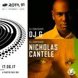 Rota 91 - 17/06/2017 - Djs convidados - DJ G ( Sambanismo Recds ) e Nicholas Cantele (Made in Italy)