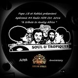 """Apéromix #4  Radio HDR oct.2016 """"A tribute to Analog Africa"""" 10th anniversary"""