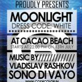 Sono Di Vayo / CODE: MOONLIGHT @ CACAO BEACH / FRIDAY 13 JULY
