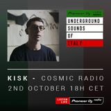 BERNY - Cosmic Radio #018 (Kisk Guest Mix) (Underground Sounds Of Italy)
