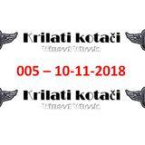 005 - Krilati kotaci (10-11-2018) radio show