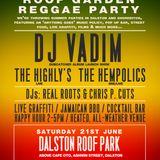 SATTAMANN @ Soundcrash DJ Vadim Dubcatcher Launch Party 21/06/14