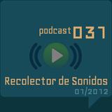 RECOLECTOR DE SONIDOS 031 - 01/2012
