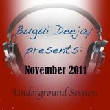 November 2011 The Underground Sounds