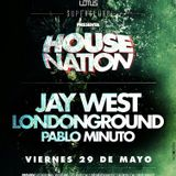 Pablo Minuto (Live) @ House Nation SuperClubb Lotus 29.05.2015