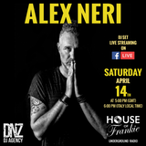 Alex Neri Vinyl Dj set at House Of Frankie HQ Milan