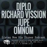 Episode 12-29-18 Ft: Diplo, Richard Vission, Jupe, & OMNOM