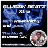 Bluezik Beatz Xtra #8 Guest mix By M-Ocean (UK) Live on Different drumz [19-08-16]