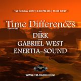 Enertia-sound - Guest Mix - Time Differences 282 (1st October 2017) on TM Radio