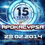 Buchecha @ Apokalypsa Festival - 15th Anniversary - 28.02.2014 - Brno - CZ