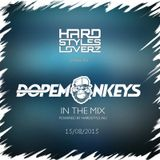 Dope Monkeys - Hard Styles Loverz Monthly Show - Hardstyle.nu - Saturday 15 August 2015