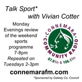 Connemara Community Radio - 'Talk Sport' with Vivian Cotter - 11dec2017