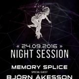 Soundtraffic Night Session - 24/25.09.2016 - Memory Splice and special guest Bjorn Akesson