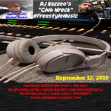 DJ Kazzeo - 2019 09 12 (Club Wreck - Kimball Hooker Interview)