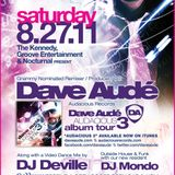 Dave Aude - Promo CD for The Kennedy 8.27.11