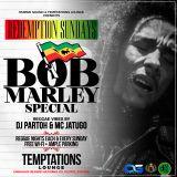 DJ PARTOH & MC JATUGO BOB MARLEY SPECIAL LIVE MIXX @ TEMPTATIONS LOUNGE EMBAKASI