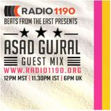 BeatsFromTheEast November 1st Show Ft Asad Gujral!