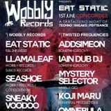Wobbly Records pres. Eat Static @ Concorde2 - Twisted Frequencies room. 01.06.2018